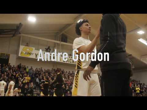 Sidney Varsity Basketball Highlights Ft. Andre Gordon (Reupload)