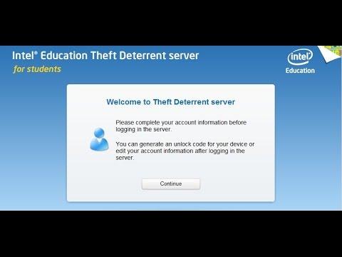 intel theft deterrent agent 2.5.1