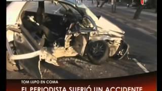 Canal 26 -Tom Lupo se accidentó y su estado es delicado