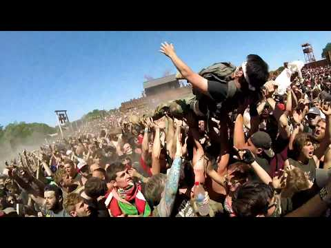 Hellfest 2017 - While She Sleeps - Four Walls