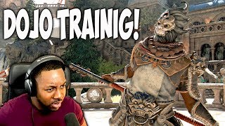 For Honor Shaolin Monk Gameplay - Combo Training [Hyperbolic Time Chamber]