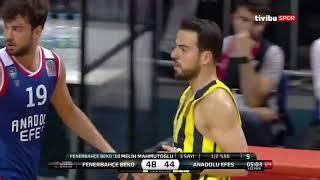#BSL #Final 6. Maç: Fenerbahçe Beko - Anadolu Efes