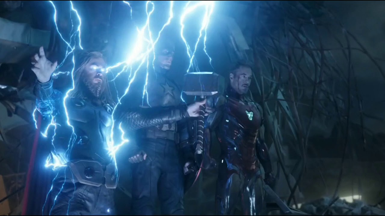 Thor Summons MJOLNIR & STORMBREAKER Orignal Movie Clip??? - YouTube