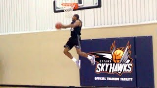 A Little Bit Of Above Rim Action From JUSTIN TUBBS! Ottawa Skyhawks