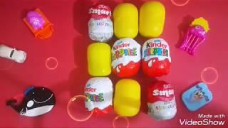 SÜRPRİZ YUMURTALAR / Surprise Eggs / DİSNEY / OYUNCAK / PİXAR / BARBİE / CARS / Kinder Surprise