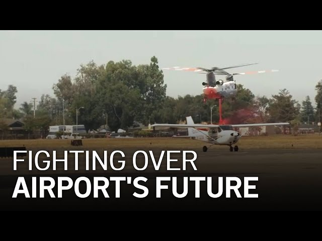 Reid-Hillview Airport Plays Key Role in Battling SCU Complex Fire
