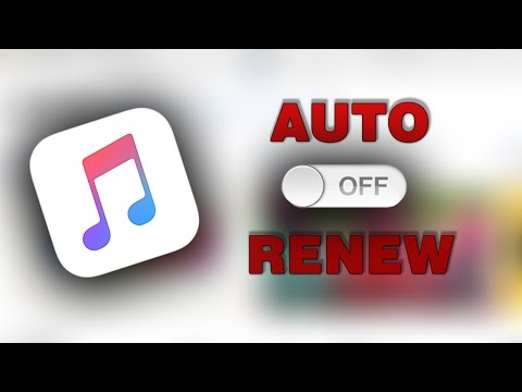 How To TURN OFF Auto-Renew on Apple Music EASY WORKING iPhone IOS 10.3 (2017)