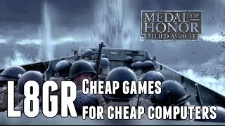 Medal of Honor Allied Assault Quick Play | Cheap Games for Cheap Computers
