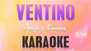 Baixar Ventino - Apaga y vámonos (Karaoke)