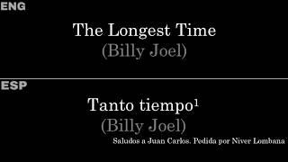 The Longest Time (Billy Joel) — Lyrics/Letra en Español e Inglés