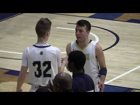 Valley Forge Military Academy vs Holy Ghost Prep - BAL Semi Final - 2.16.17