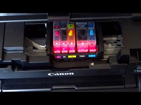 Как правильно установить печатающую головку от принтера