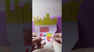 Распаковка мини Хэппи мила (бумажные сюрпризы ) ( Avon online lps)