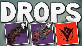 Destiny - HARD MODE RAID DROPS  (SO LUCKY !!)