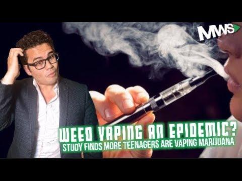 Are Teenagers Vaping More Marijuana Than You Think?