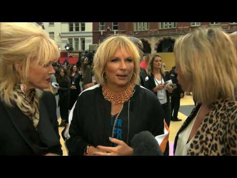 AbFab premiere: We speak to Joanna Lumley, Jennifer Saunders... and Dawn French