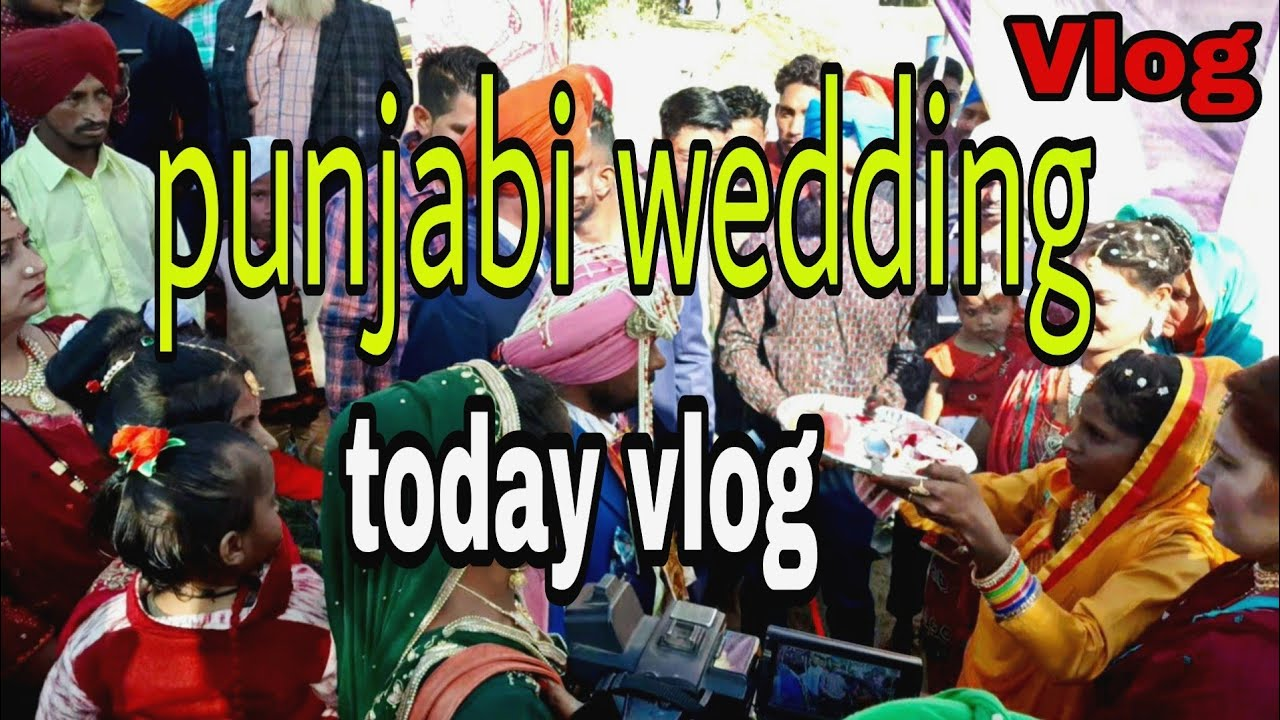 Download Punjabi/wedding/vloging/new video  marriage punjabi kese hoti hai new vlog baljeet kalagarh wala