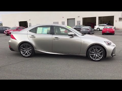 2017 Lexus IS Palm Springs, Palm Desert, Cathedral City, Coachella Valley, Indio, CA 060021T