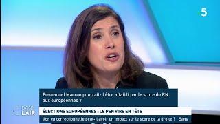 Élections européennes : Le Pen vire en tête - Les questions SMS #cdanslair 25.04.2019