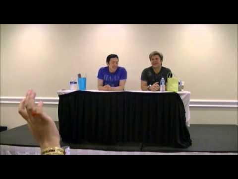 Vic Mignogna & Todd Haberkorn Q & A Panel  @ Khaotic Kon 2013