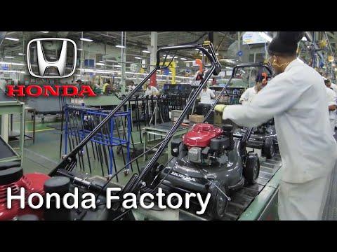 Honda Power Equipment Production, Honda Plant North Carolina