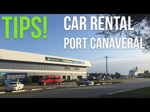 Rental Cars At Port Canaveral - Avis, Hertz, Budget, National, Enterprise, Alamo, Thrifty, Dollar