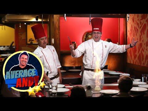 Average Andy Becomes a Chef at Benihana