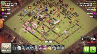 Hot Strategy Miner Attack Th11 3 Star Th11 Max War Base! Clash Of Clans