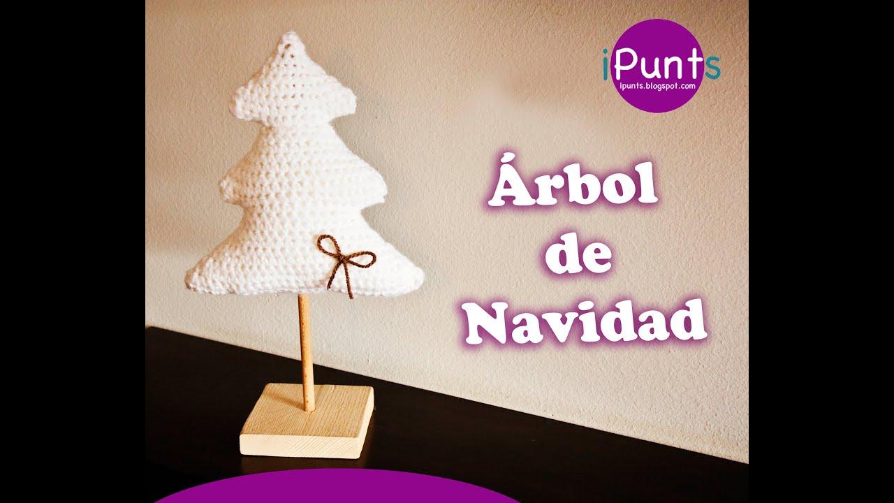Árbol de Navidad a crochet paso a paso - YouTube