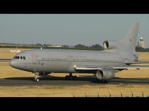 Royal Air Force Lockheed L-1011 TriStar Taxi & Takeoff