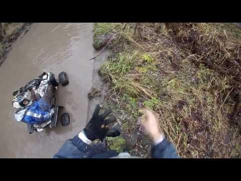 ATV trail ride CFMOTO X8 и RM РЫСЬ 125 покатухи с детьми  Дорога на Каракольские озёра Горный Алтай
