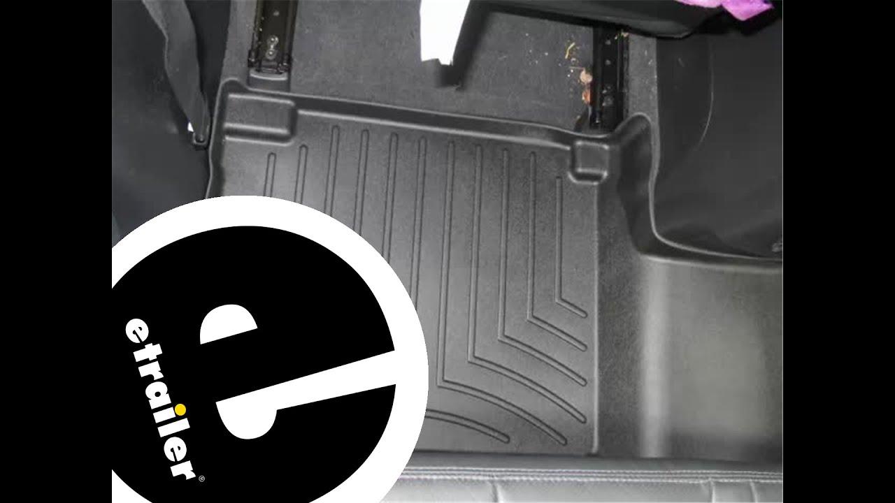 Weathertech floor mats 2015 kia sorento - Review Of The Weathertech Rear Floor Liner On A 2009 Hyundai Santa Fe Etrailer Com