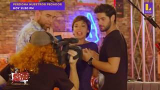 Andrés Wiese y Tatiana Astengo hacen casting de telenovela en Noche de Patas