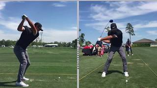 Brooks Koepka - Slow motion driver swing analysis