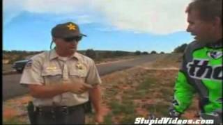 Police Fail - No dirty Bikes on the Highway  [ XD ]