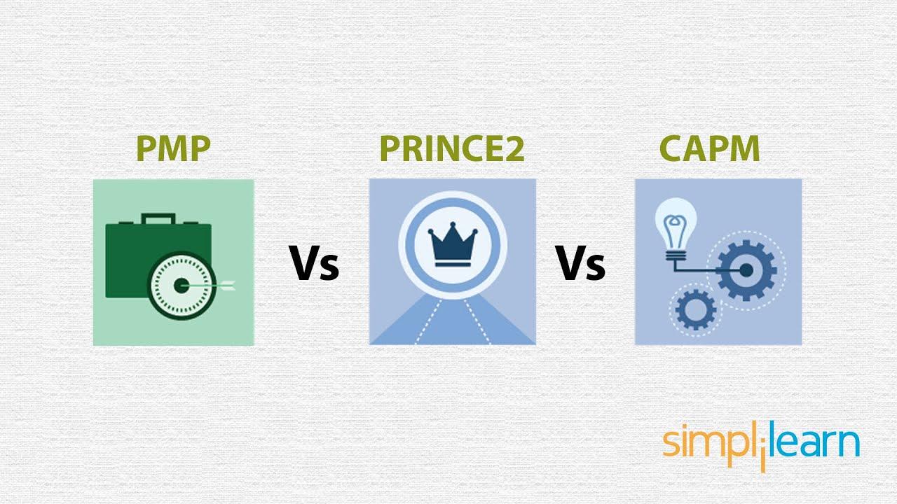 Pmp Vs Prince2 Vs Capm Project Management Tutorial