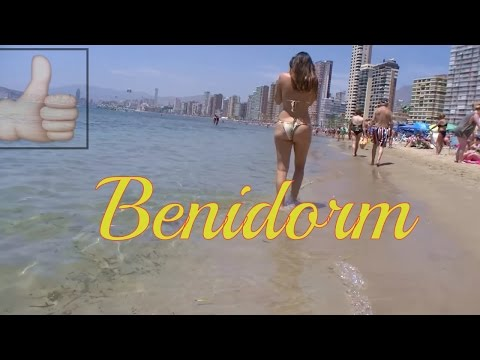 Best Beaches in Spain,  La playa Benidorm, España