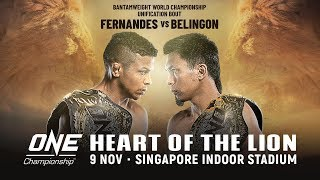 [Full Event] ONE Championship: HEART OF THE LION