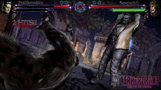TERRORDROME Reign of the Legends OFFICIAL Trailer (NEW Horror Fighting Game 2018)