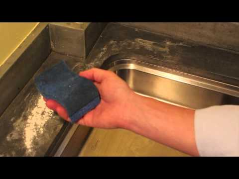 Exceptionnel Zinc Countertop Care U0026 Cleaning