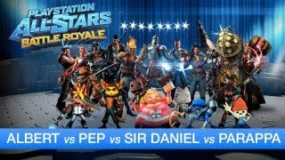 PlayStation All-Stars Battle Royale - Partida comentada (Gameplay HD)