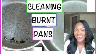 HOW TO CLEAN BURNT POTS AND SCORCHED PANS‼️
