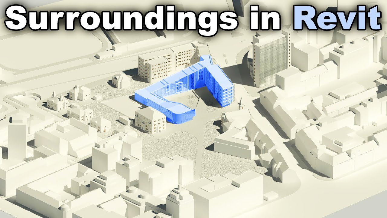 How to Model Surroundings in Revit Tutorial