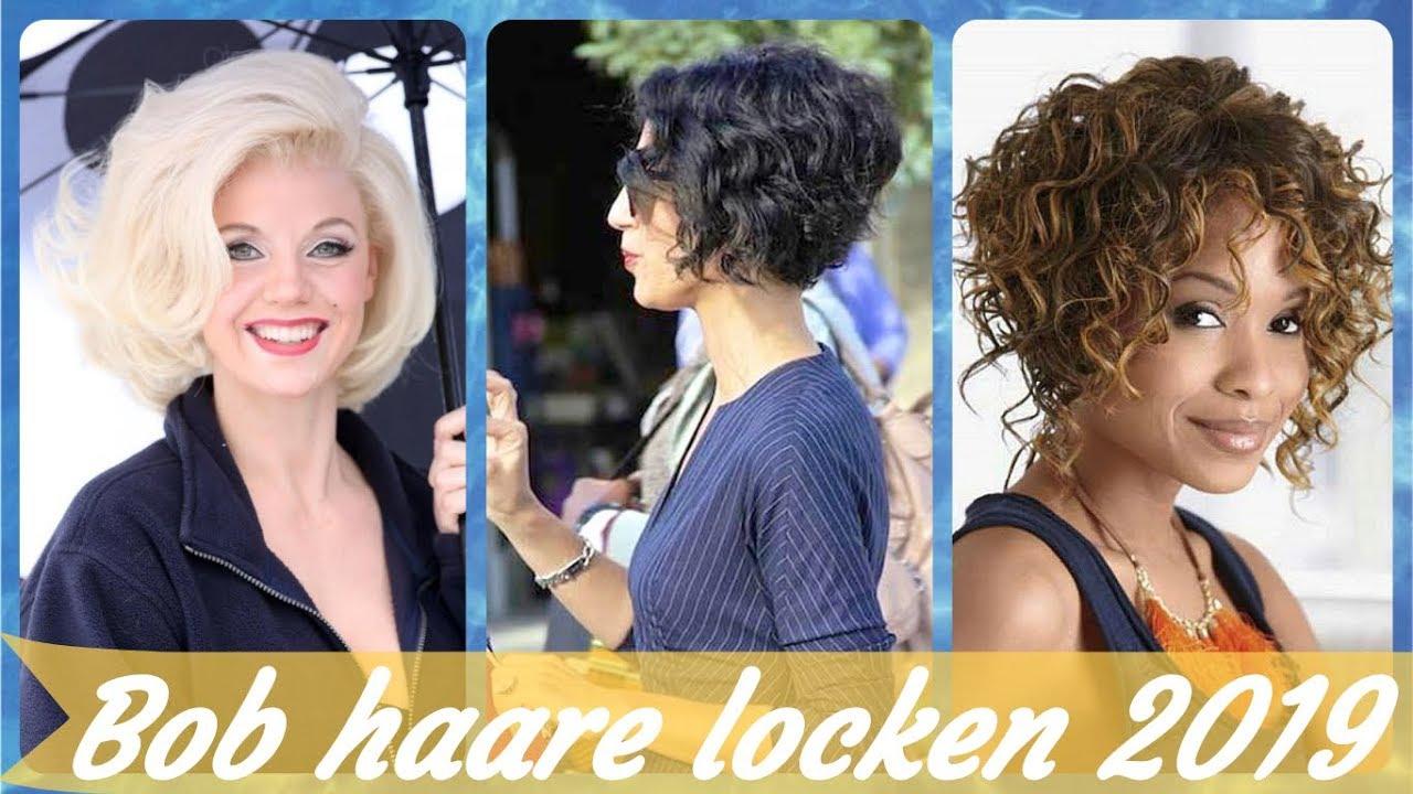 Die Fetzige 20 Ideen Zu Frisuren Bob Mit Locken 2019