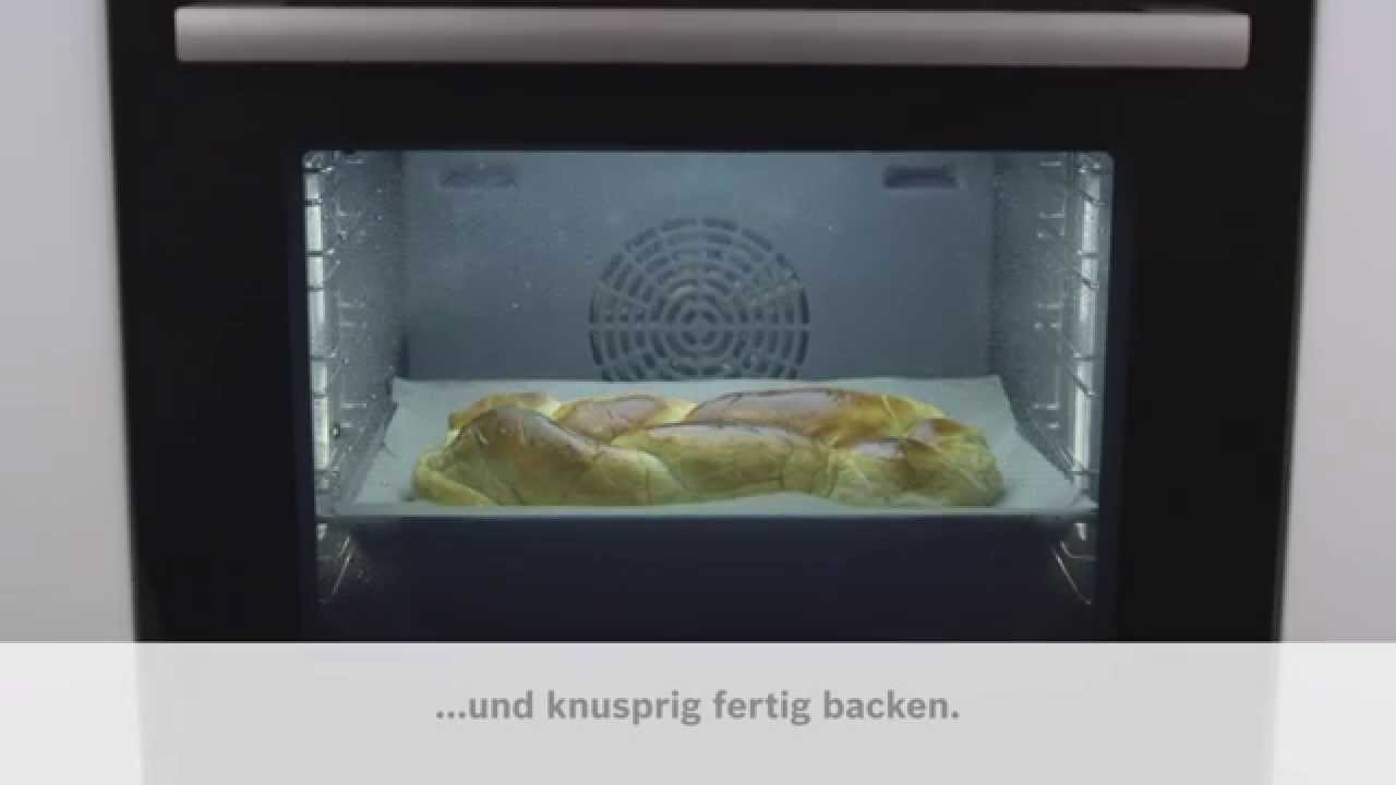 bosch sensor backofen serie 8 dampfstoss youtube. Black Bedroom Furniture Sets. Home Design Ideas