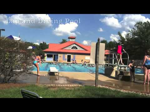 Family Fun At The Outdoor Pool In Poolesville Maryland Youtube