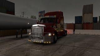 American Truck Simulator. Логистика с двойным трейлером. Выполнить!