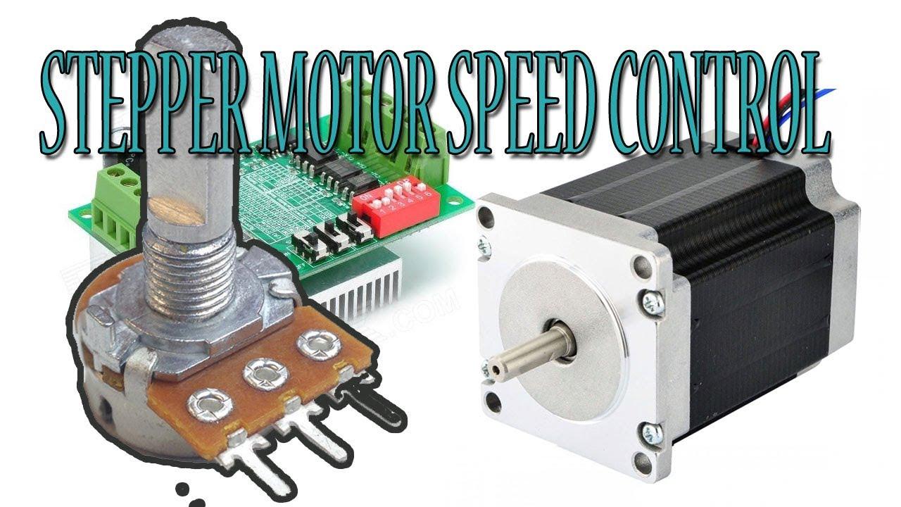Stepper Motor Speed Control with Potentiometer - Arduino Tutorial