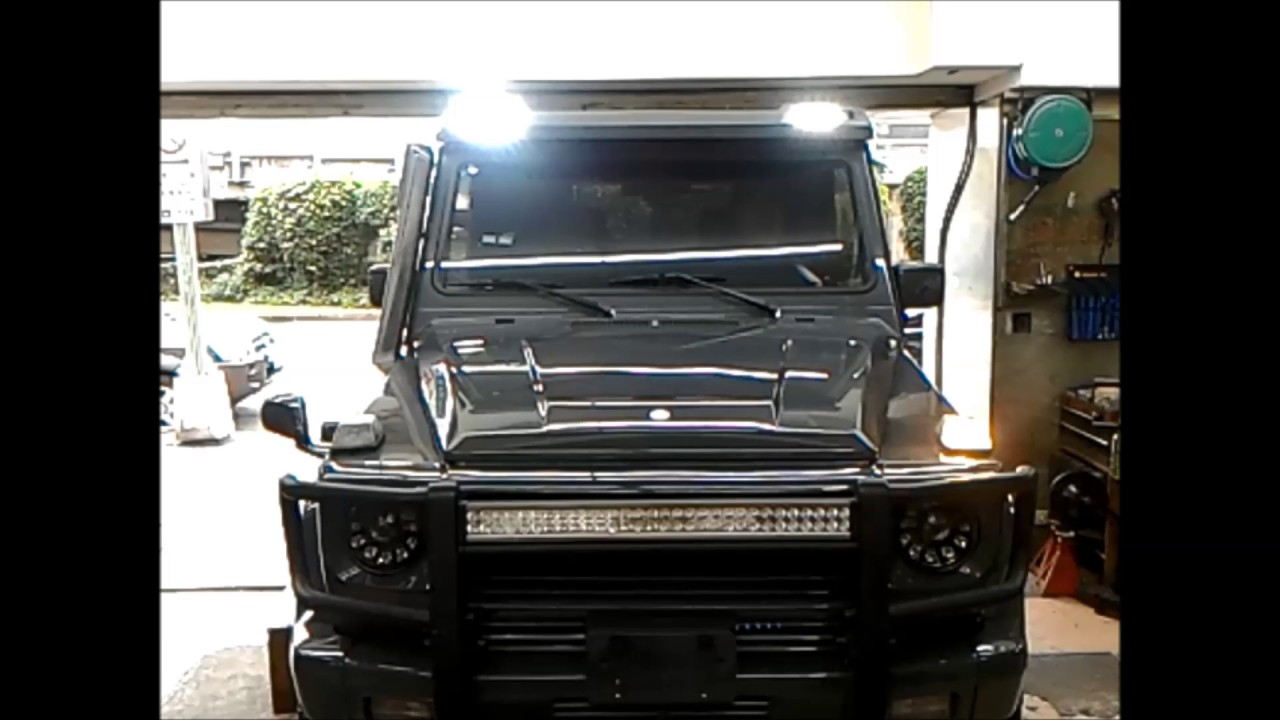 G class g63 4x4 6x6 light bar with sequential indicators led g class g63 4x4 6x6 light bar with sequential indicators led lights w463 aloadofball Image collections