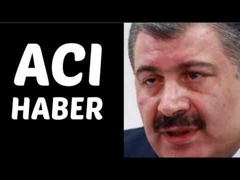 Fahrettin Koca'dan Maalesef ACI Haber! SON DAKİKA Açıklaması! (22 Eylül 2020)